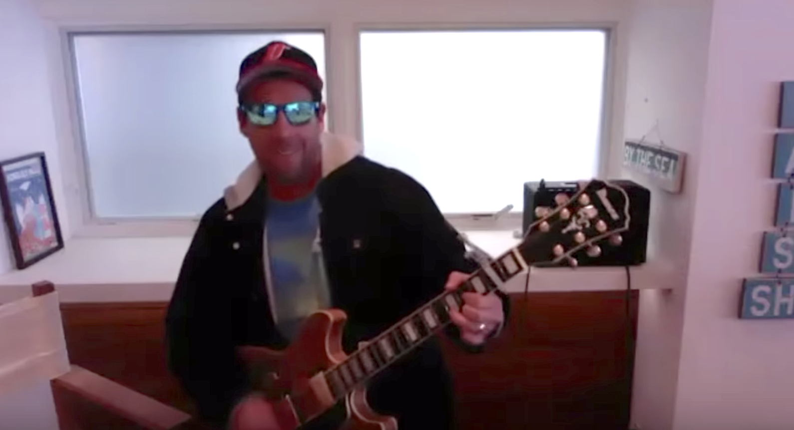 Adam Sandler Debuted a Sweet—and Hilarious—Song About Doctors and Nurses on The Tonight Show