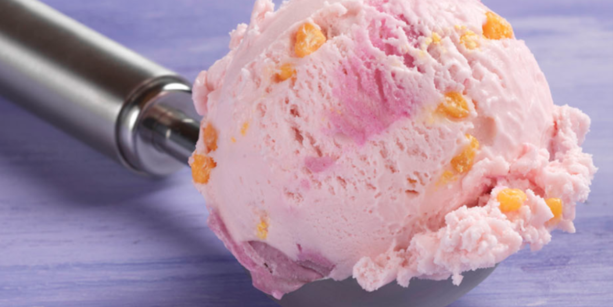 April's Flavor Of The Month At Baskin-Robbins Is Cotton Candy Crackle And It's A Carnival Of Color