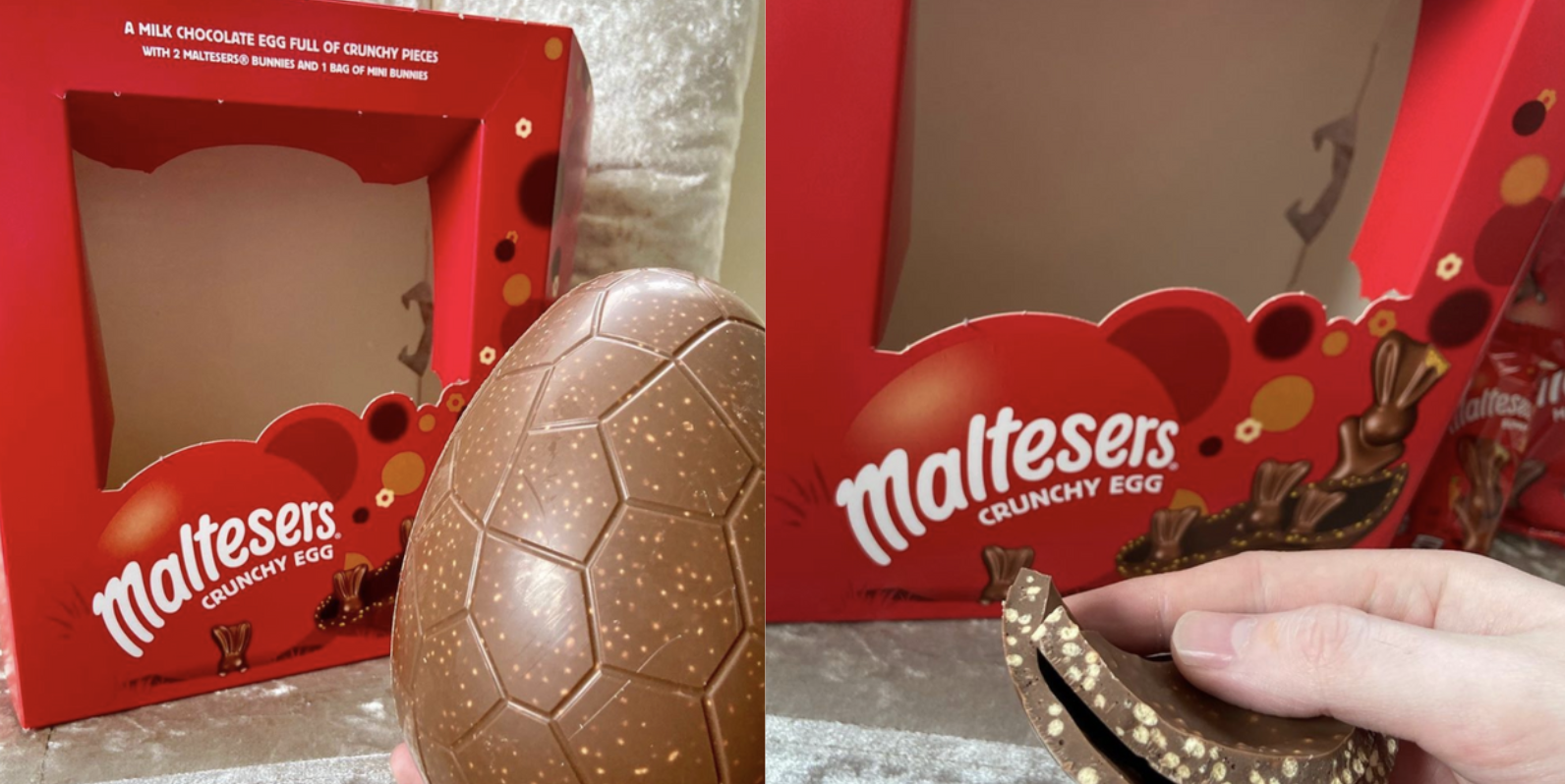 Maltesers Sells A Huge And Crunchy Chocolate Egg