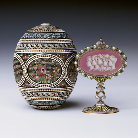 The Mosaic Egg