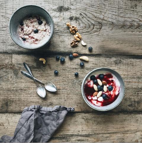 Food, Cuisine, Dish, Meal, Breakfast, Breakfast cereal, Superfood, Ingredient, Porridge, Vegetarian food,