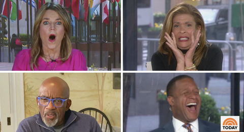The Today Show Cast Reacts To Carson Daly S Haircut Prank