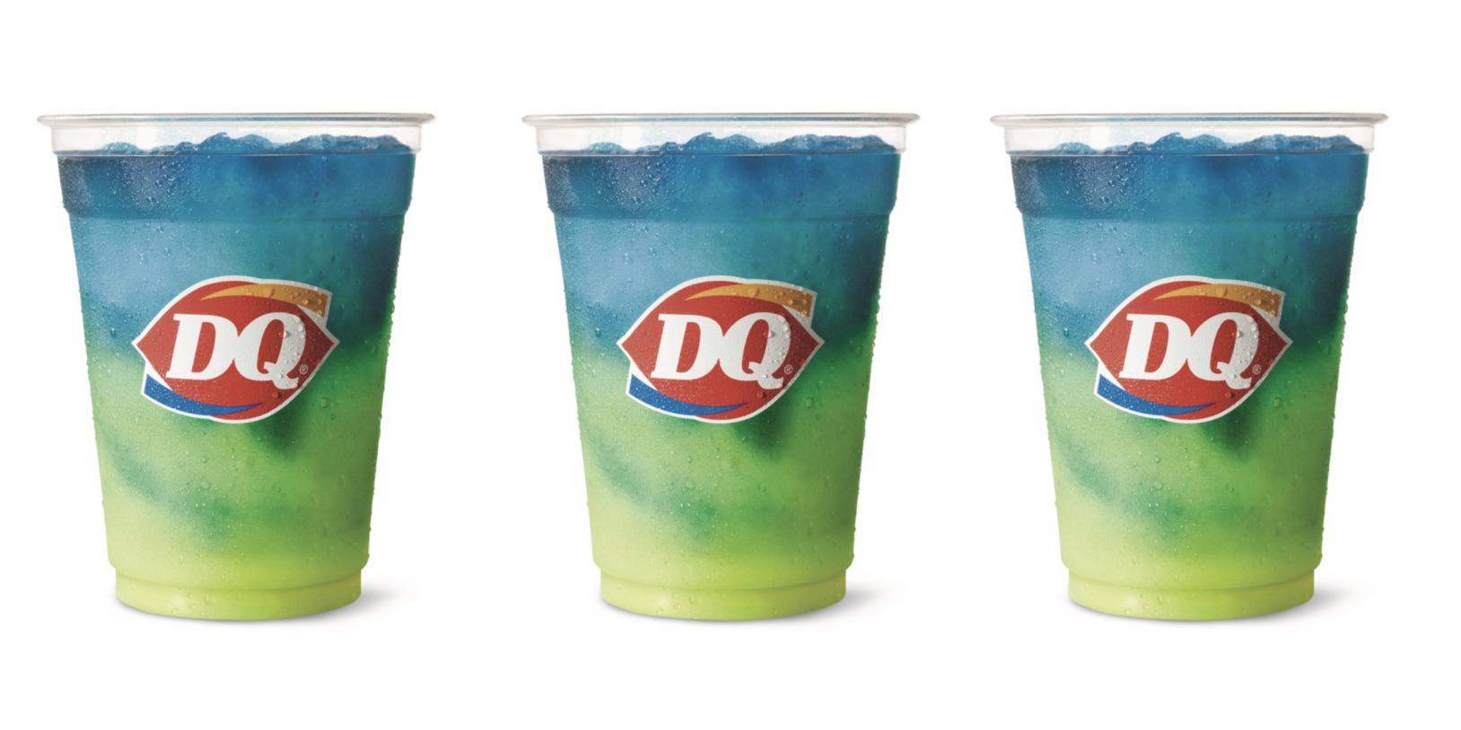 Dairy Queen's Has A New Lemonade Twisty Misty Slush