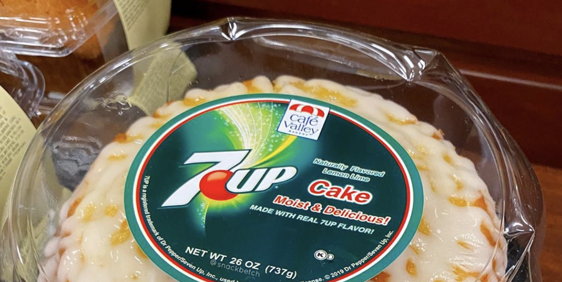 Walmart Sells 7-Up Cake That Has A Subtle Lemon-Lime Flavor