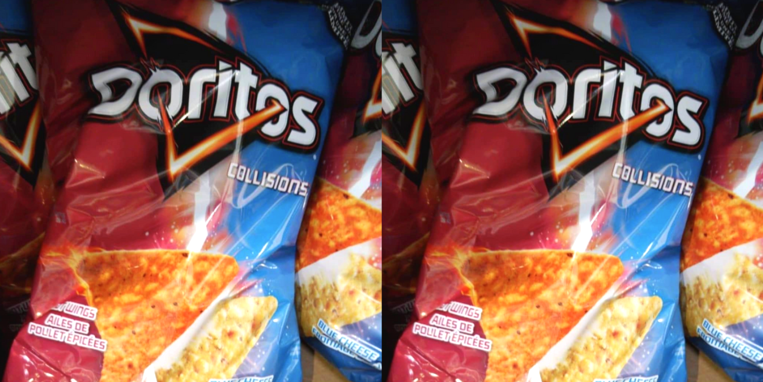 Doritos Sells Bags With Both Hot Wing Chips And Bleu Cheese Chips Inside