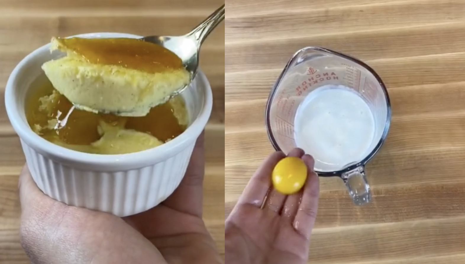 This Tiktok Hack Makes Creme Brulee So Easily