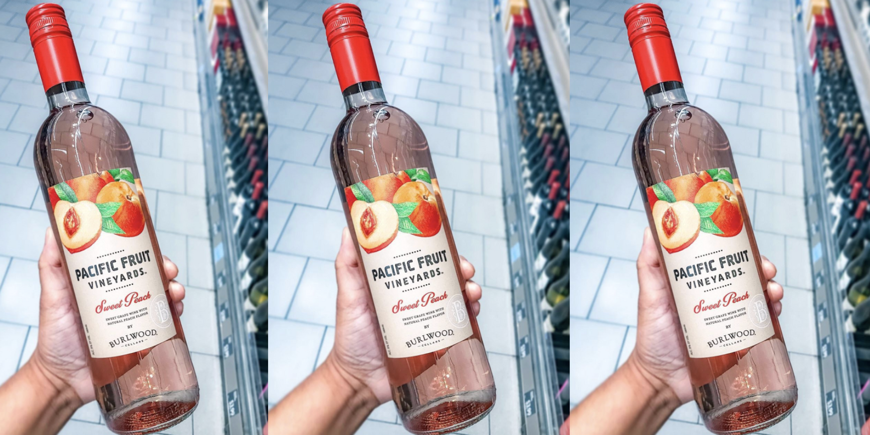 Aldi Is Selling A Sweet Peach Wine