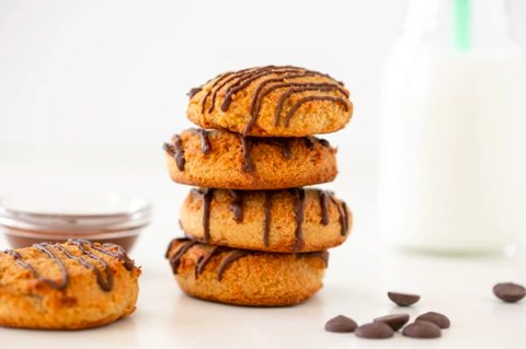 these flourless 2 ingredient cookies are so easy to make