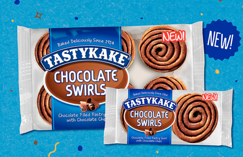 tastykake chocolate swirls