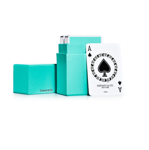 tiffany  co deck of cards