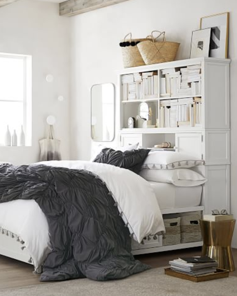 21 Brilliant Storage Tricks For Small Bedrooms