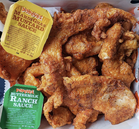 Popeyes Culinary Expert Shared The Chain S Chicken Thigh Recipe