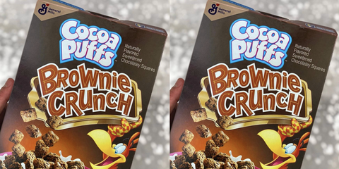 cocoa puffs brownie crunch cereal