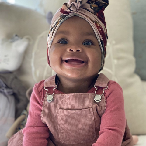 magnolia earl is the new face of gerber
