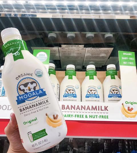 banana milk from aldi