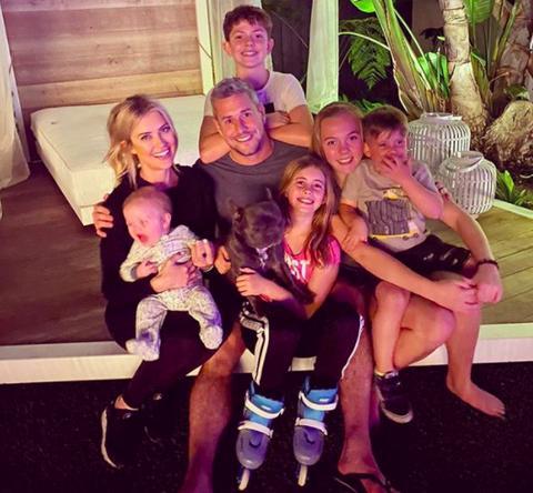 christina anstead and family