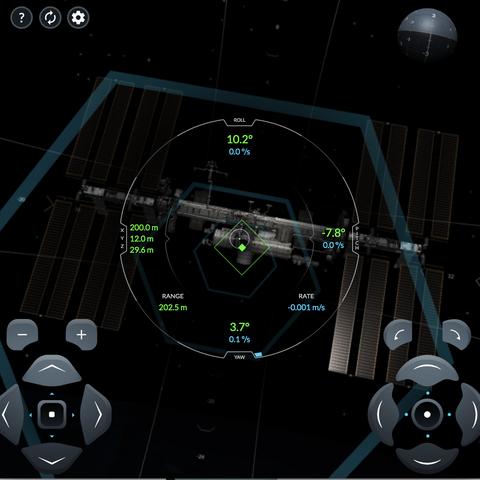 spacex iss docking simulator