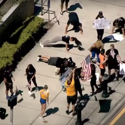 wfla gym protestors