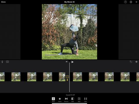 ebenezer samuel using transitions for video editing