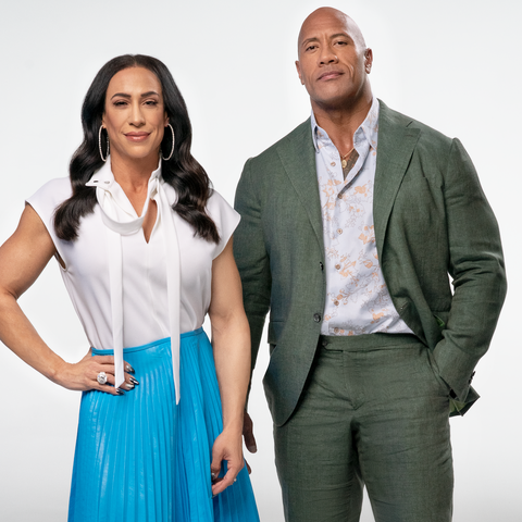 dany and the rock