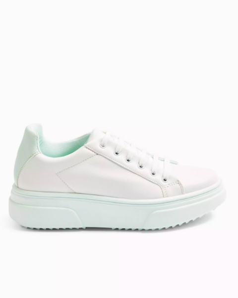 canada mint lace up trainers topshop £2900