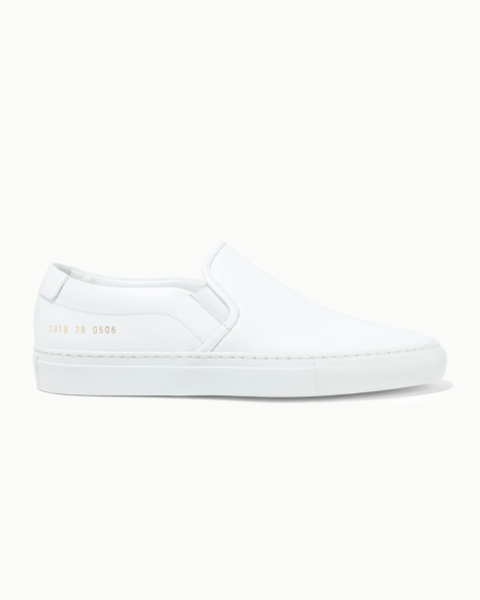 common projects leather slip on sneakers  £330