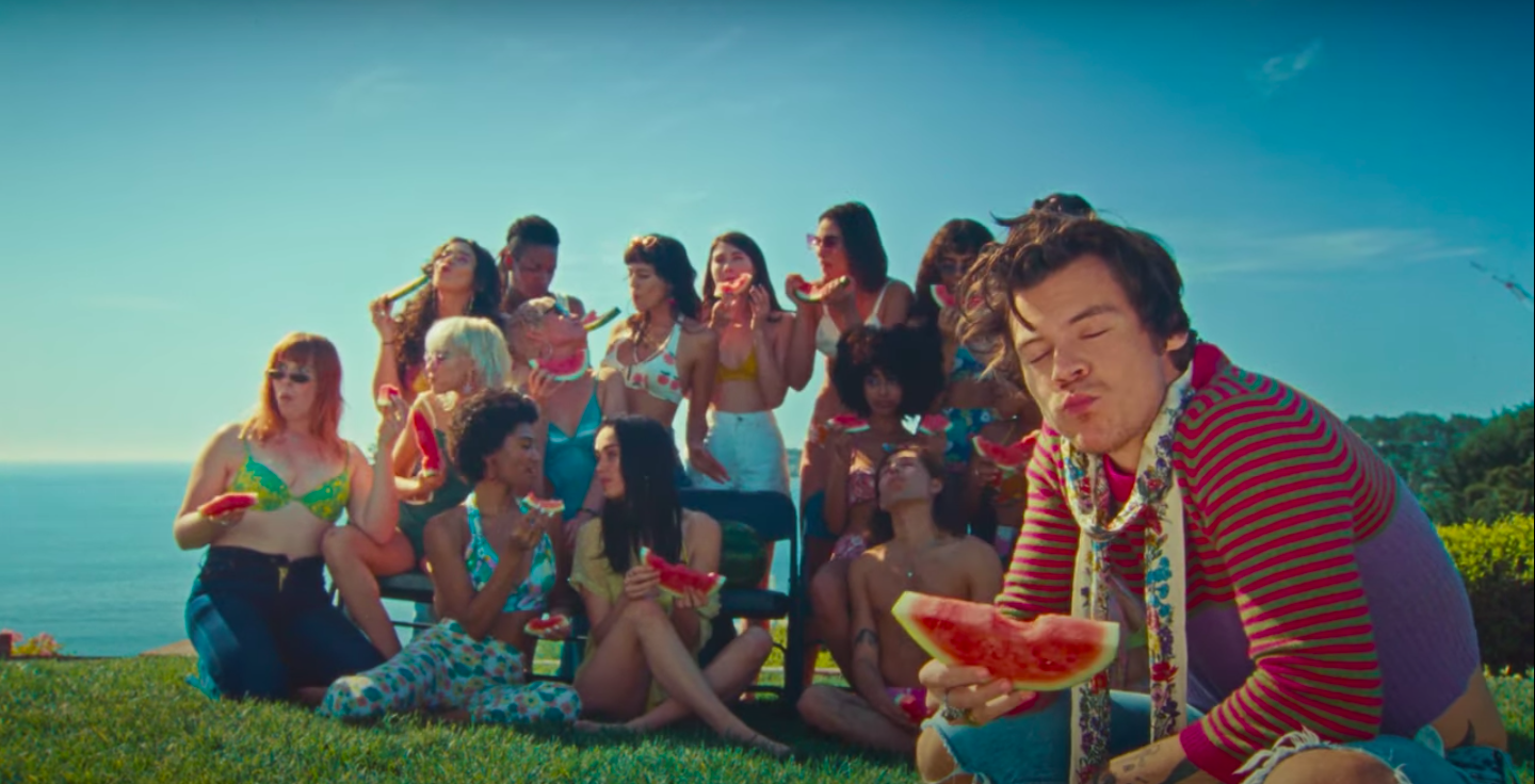 Harry Styles Is Horny for Produce and Euphemisms in the 'Watermelon Sugar' Video