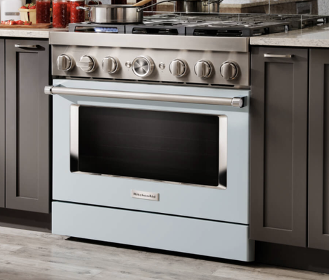 KitchenAid's Gas Ranges Now Come In 9 Different Colors