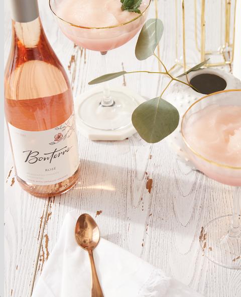 bonterra frosé wine cocktail