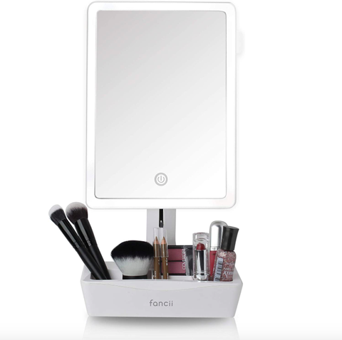 fancii led lighted xl large vanity makeup mirror