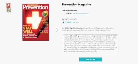 prevention store snapshot