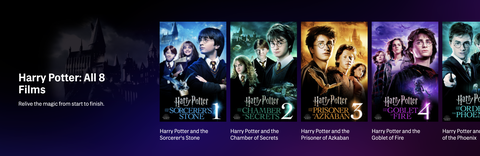 """All the """"Harry Potter"""" Films are Now Available on HBO Max for a ..."""