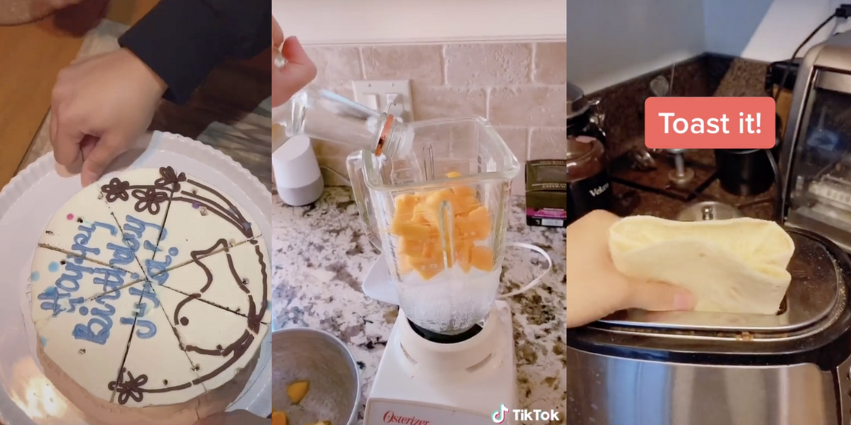 These Are All Of The TikTok Food Hacks Worth Trying, From Easy Recipes To Food Prep Tips