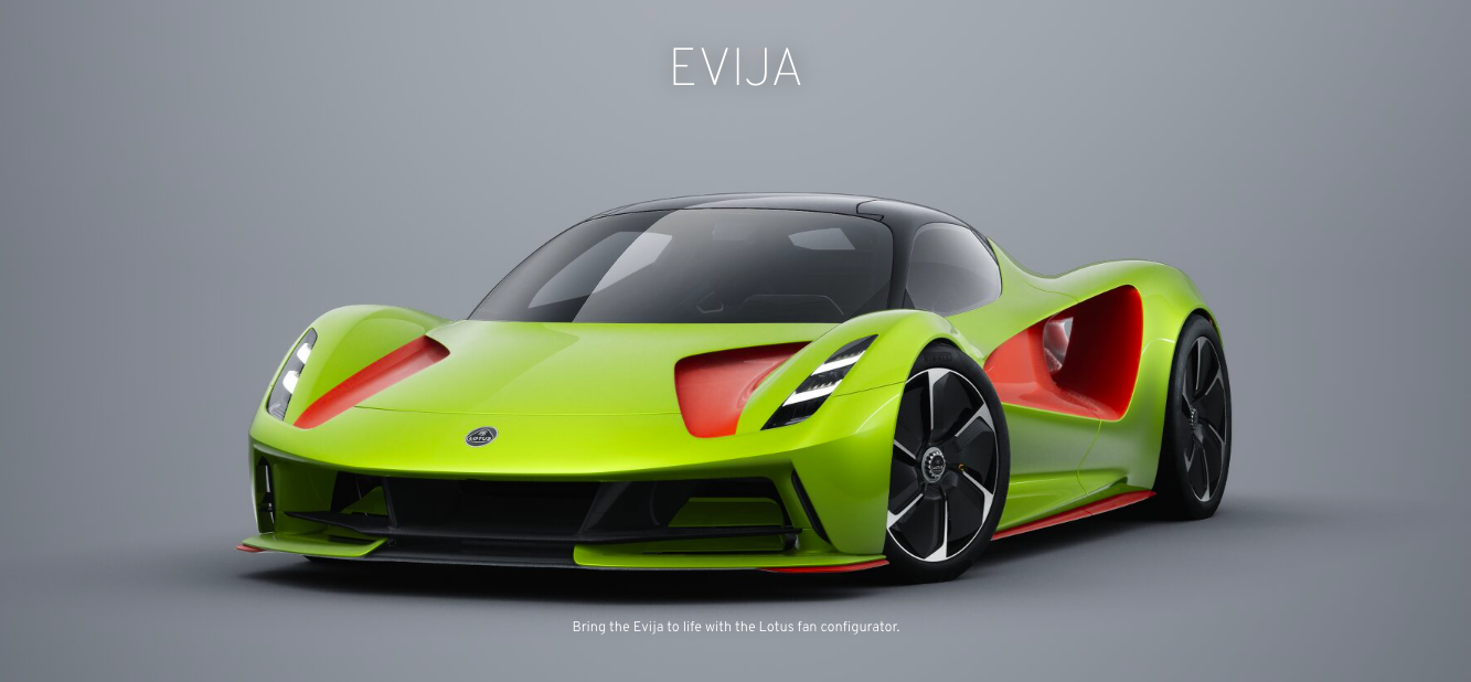 Build Your Dream Lotus Evija With This New Configurator Site