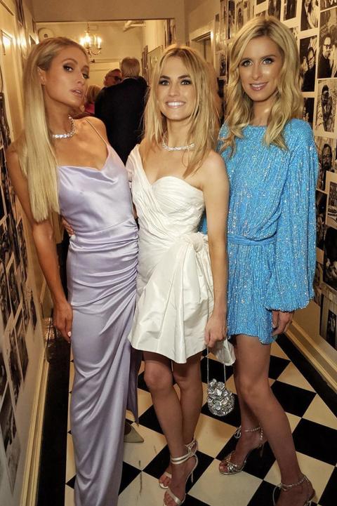 celebrity wedding guests