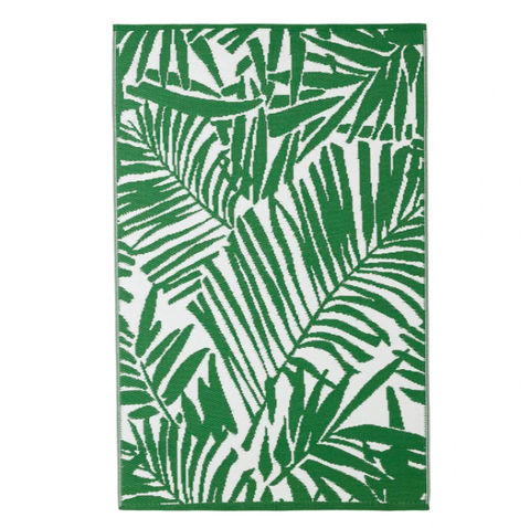 Green, Leaf, Plant, Vascular plant, Botany, Pattern, Tree, Fern, Rug,