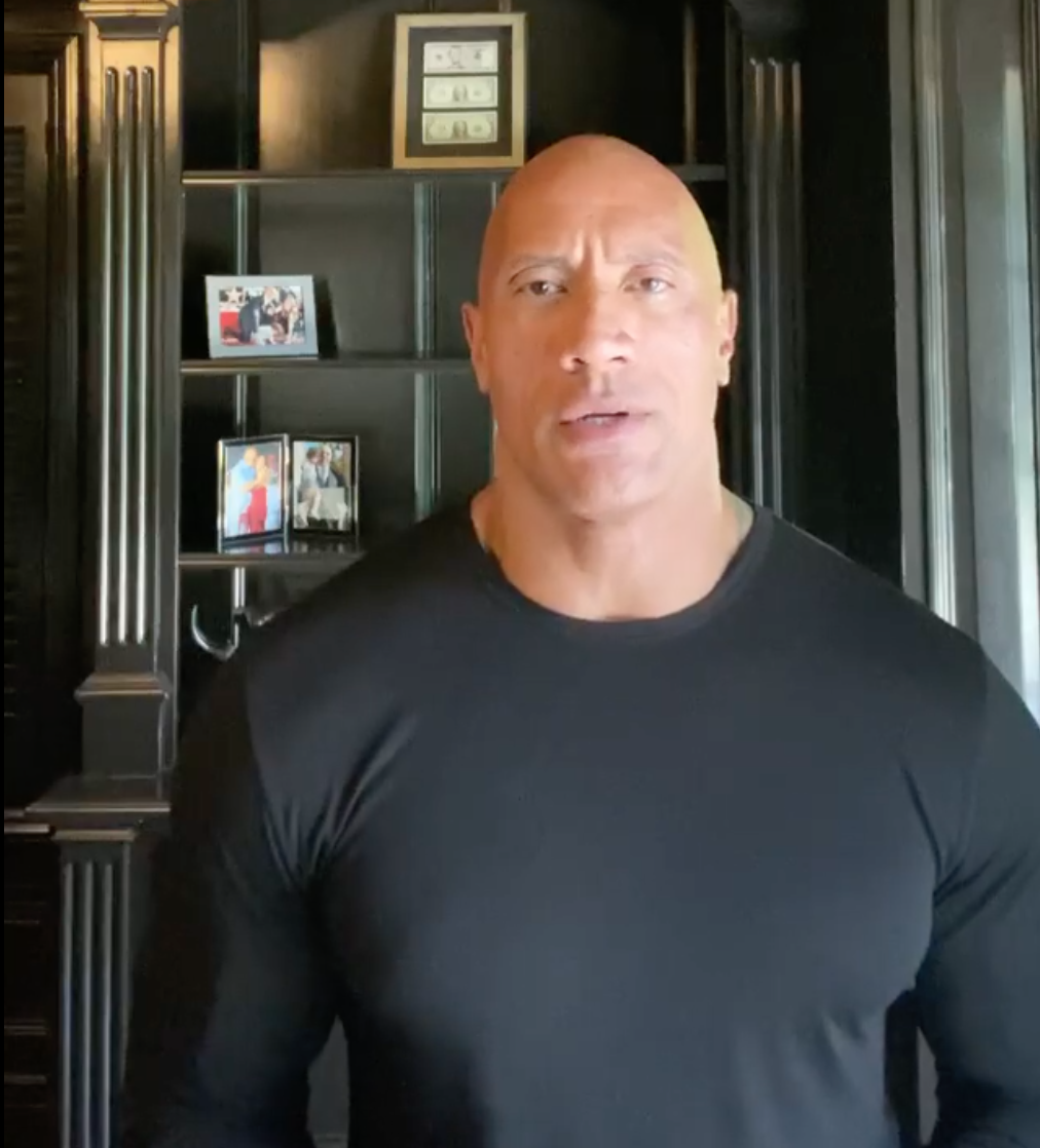 Dwayne Johnson Rarely Talks Politics, But There's No Mistaking His Searing Statement on Trump