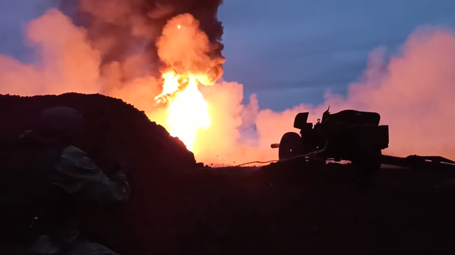 oil well fire, rapira