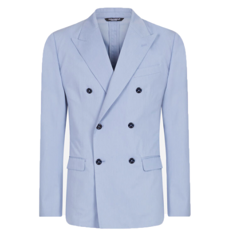 dolce and gabbana blue suit fathers day