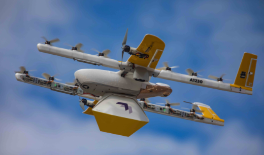 a wing drone