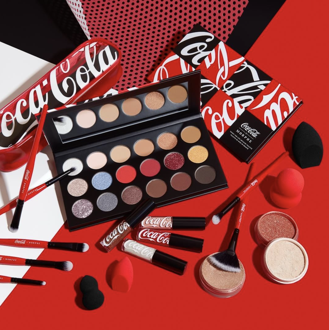 morphe thirst for life collection coca cola