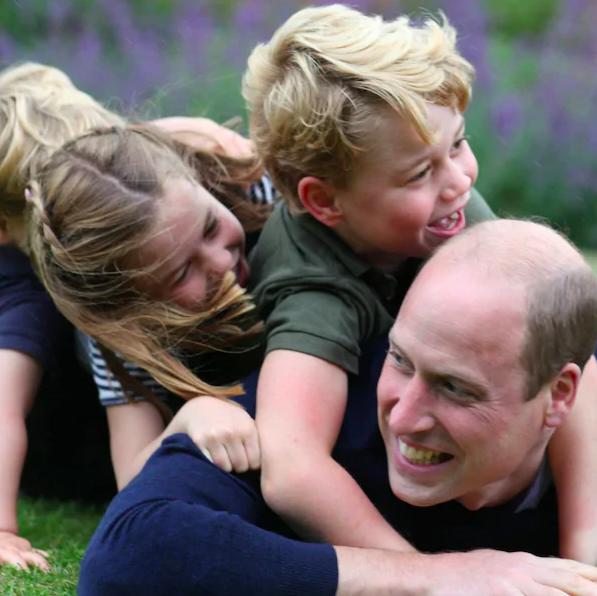 cambridges fathers day photos