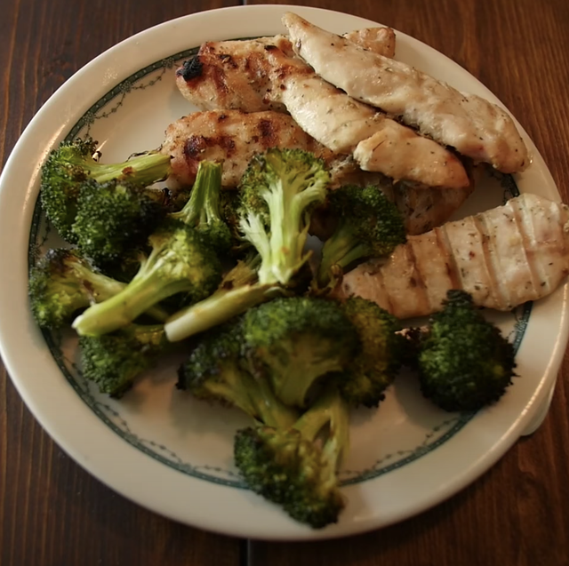 What Happened When The Buff Dudes Ate Just Chicken And Broccoli