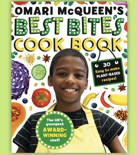 omari mcqueen best bites cookbook