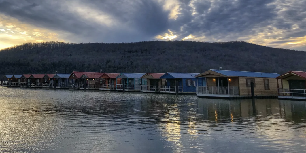 You Can Stay in Floating Cabins Just Two Hours Outside Nashville