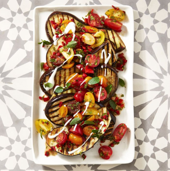 spiced grilled eggplant