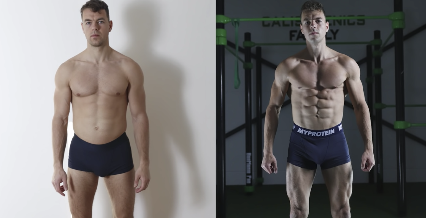 This Guy Did 30 Days of Calisthentics Workouts to Get as Shredded as Possible