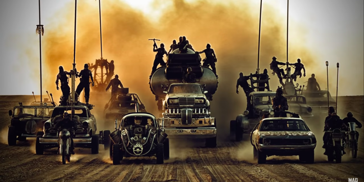 Inside 'Fury Road': Look Behind the Scenes at the Wildest Movie Cars Ever