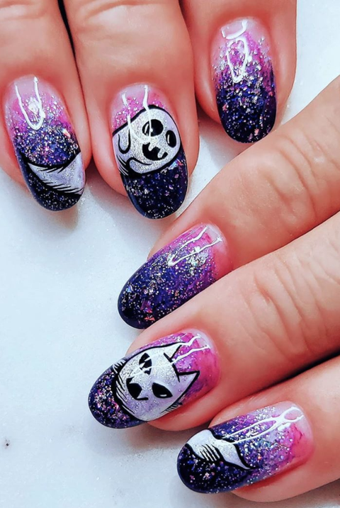 50 Best Halloween Nail Ideas 2020 – Cute Halloween Nail ...