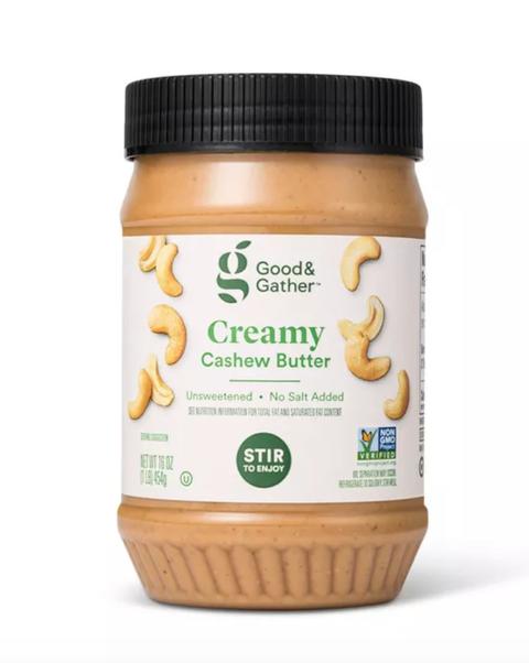 good and gather creamy cashew butter